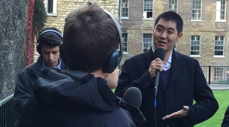 David in London - Image